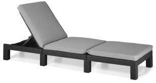Шезлонг ALLIBERT Daytona Sun Lounger 17192156
