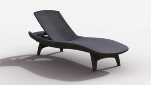 Шезлонг KETER Pacific Sun Lounger 17195066