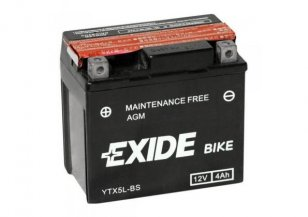 Аккумулятор Exide 4 Ah YTX5L-BS Bike