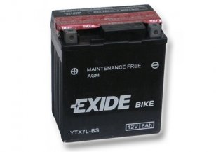 Аккумулятор Exide 6 Ah YTX7L-BS Bike