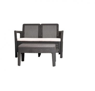 Двойной комплект ALLIBERT Tarifa Sofa + Table