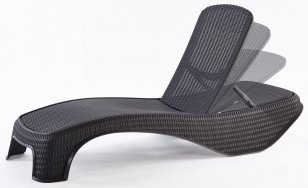 Шезлонг KETER Atlantic Sun Lounger 17199231
